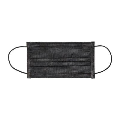 IAP 成人醫用外科口罩 - 酷黑獨立包裝 - 型號:FC016ibk